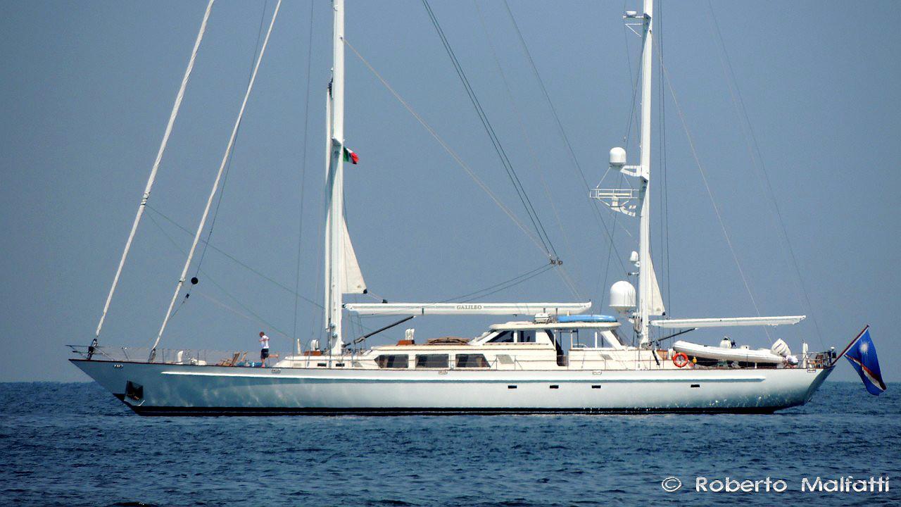 Sailing yacht galileo by palmer johnson in tuscany italy for Johnson marine italia