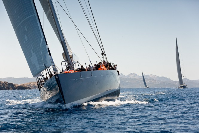 Sailing yacht Ganesha, first classified at Dubois Cup 2015. Photo by Jeff Brown Breed Media