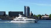 Seven Sins yacht at sea trials
