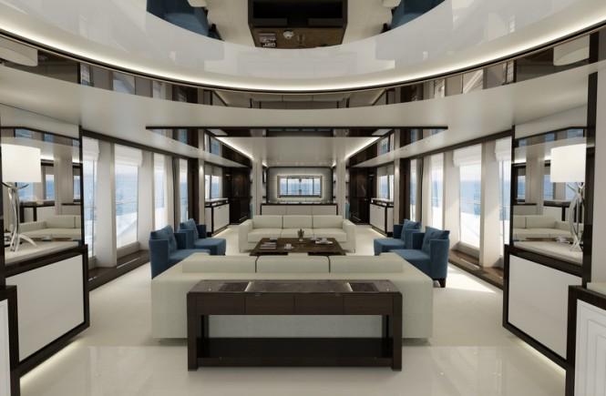 Sunseeker motor yacht '131 Yacht' - Saloon
