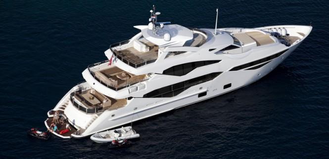 Sunseeker superyacht '131 Yacht'