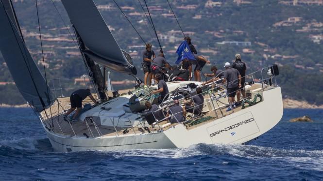 Super yacht Grande Orazio, Division C - Loro Piana Superyacht Regatta 2015. Photo Carlo Borlenghi