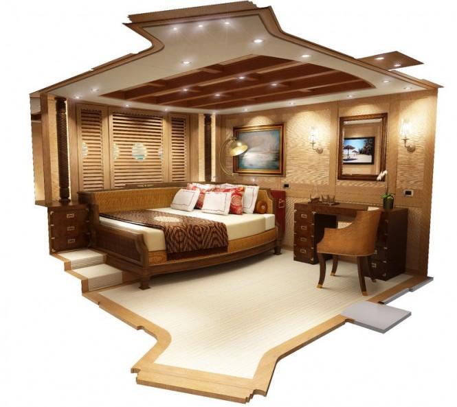 Super yacht Zanziba - Guest Cabin