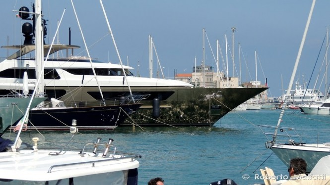 Superyacht ACHILLES - Photo by Roberto Malfatti