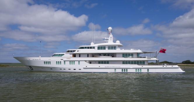 Superyacht SIRAN - side view