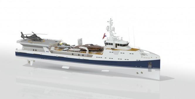 Superyacht Support Vessel SEA AXE 6911