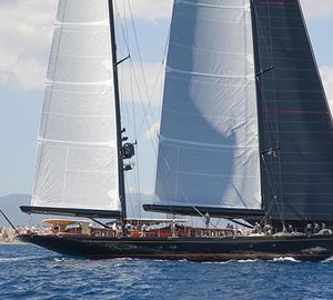 Majestic Sailing Yacht MARIE Overall Winner of Superyacht Cup Palma 2015