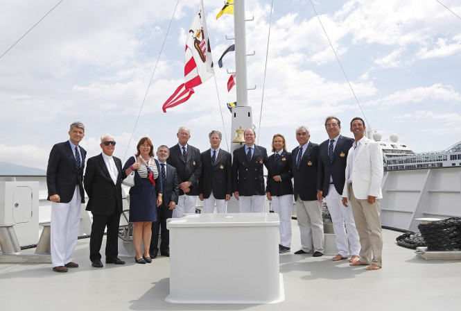 YERSIN Yacht Official Presentation in Monaco - Photo by Ameller