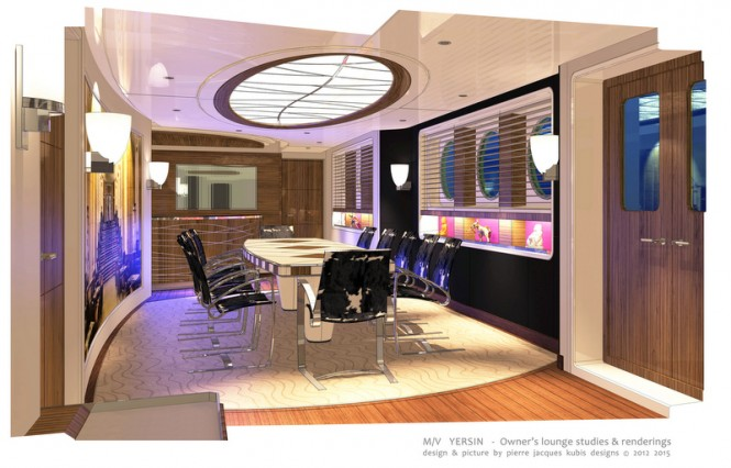 YERSIN Yacht - Owners Lounge