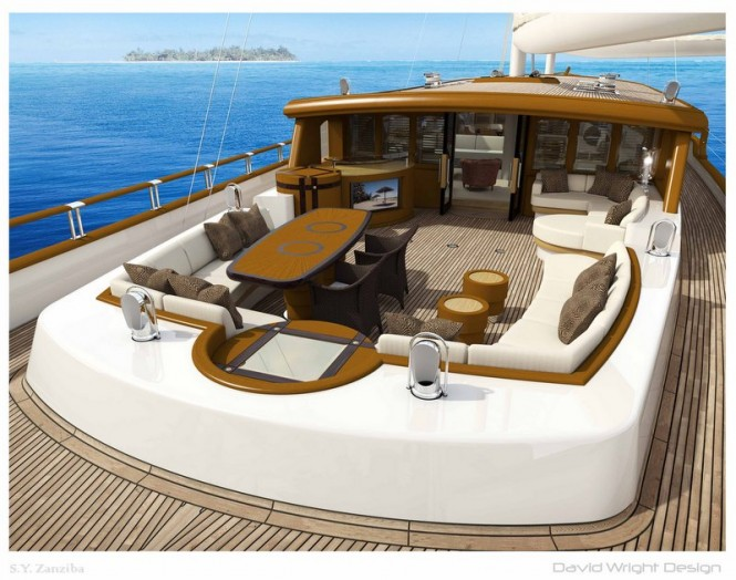 Zanziba Yacht - Aft Deck