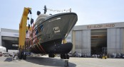 First Sanlorenzo explorer yacht 460EXP at launch