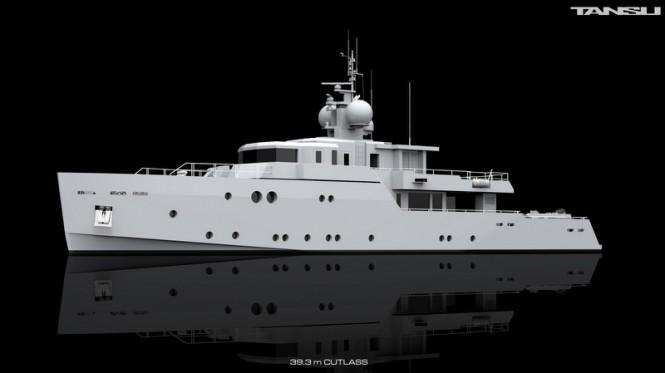 39m superyacht Cutlass by Tansu Yachts