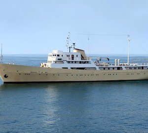 Newly restored 65m Classic Motor Yacht LA SULTANA exclusively available for Mega Yacht Charter