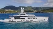 66m Lurssen mega yacht ESTER III - Photo by Guillaume Plisson