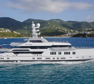 Striking 66m LURSSEN Luxury Yacht ESTER III to be showcased at Monaco Yacht Show