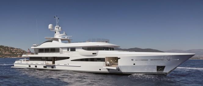 AMELS LE 180 super yacht YN 470