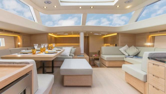 APSARAS Yacht - Saloon