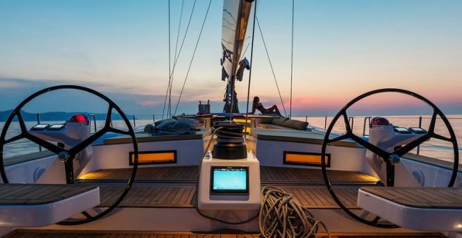 Aboard APSARAS Yacht
