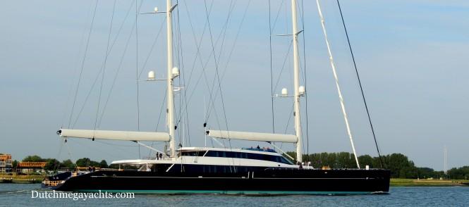 Aquijo Yacht underway - Image by Dutchmegayachts