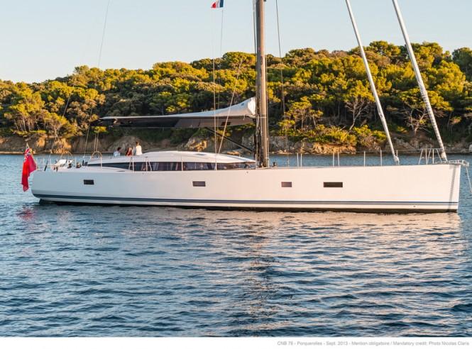 CNB 76 Yacht LEO - Photo credit to Nicolas Claris
