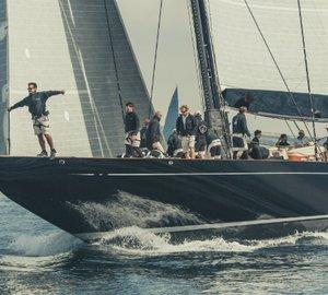 Majestic Claasen Yacht LIONHEART Winner of J Class Falmouth Regatta