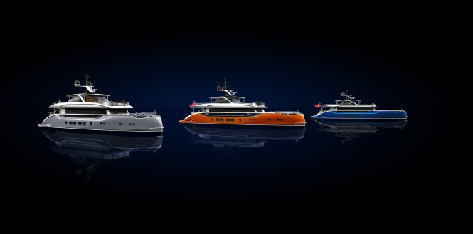 DYNAMIQ range of Superyachts