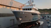 Darwin Class 107 explorer yacht STORM by CdM at launch