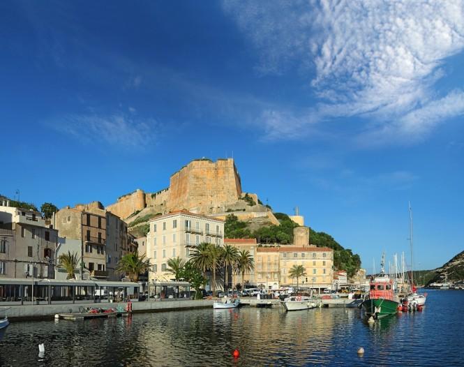 France - Corsica - The Port de Plaisance of Bonifacio