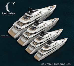 Columbus Yachts to unveil entire new Oceanic Series at Monaco Yacht Show 2015