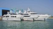 Gulf Craft's Superyachts Majesty 135, Majesty 122 and Majesty 105