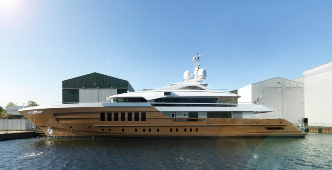 HEESEN YN 17255 Superyacht AZAMANTA - Photo by Dick Holthuis