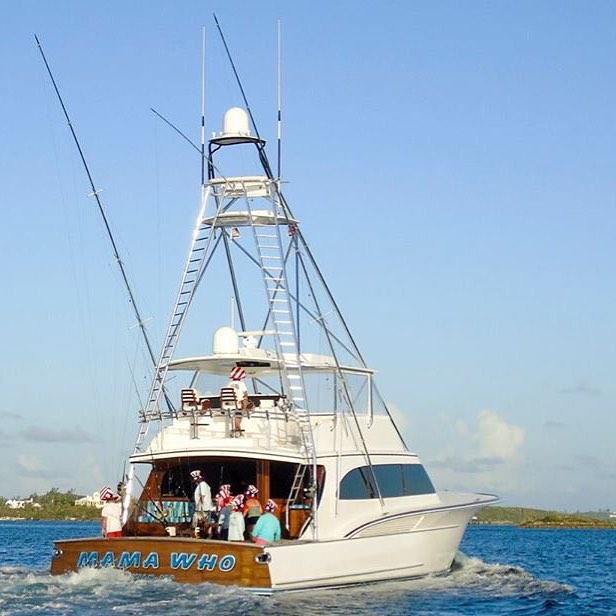 Jarrett Bay 77 Yacht Mama Who