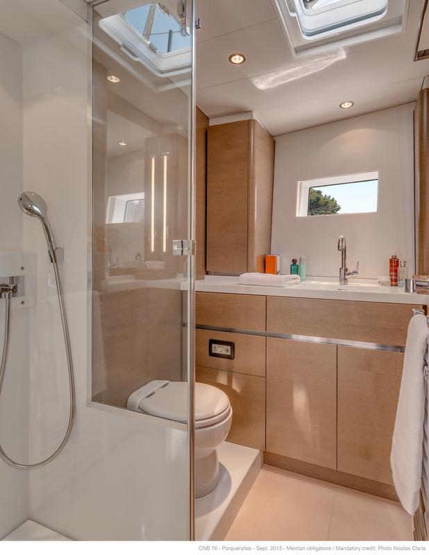 LEO Yacht - Owners Bathroom - Photo by Nicolas Claris