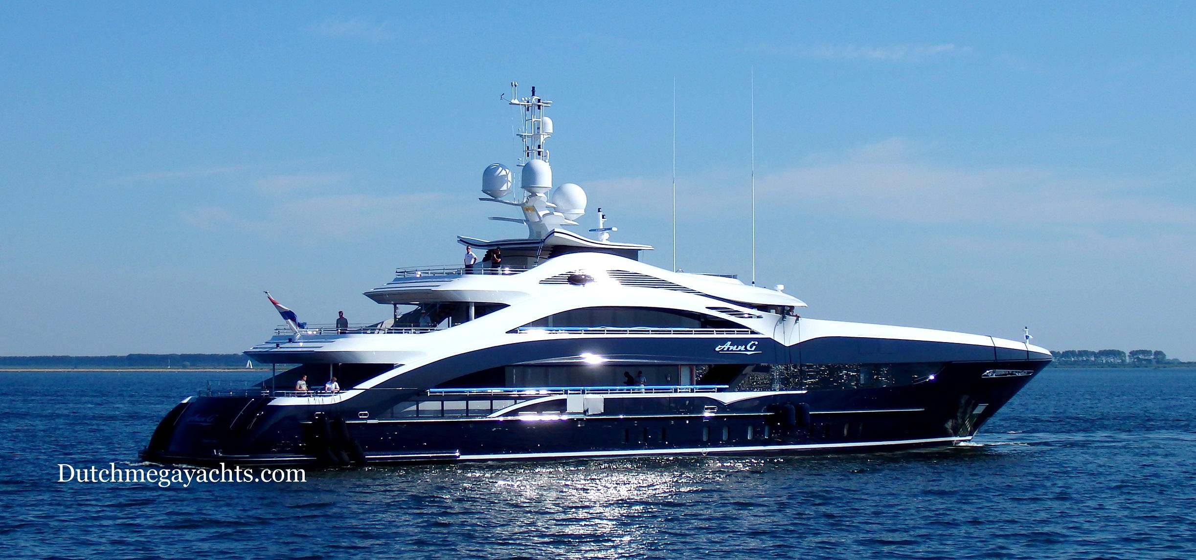 Luxury Motor Yacht Ann G Photo By Dutchmegayachts