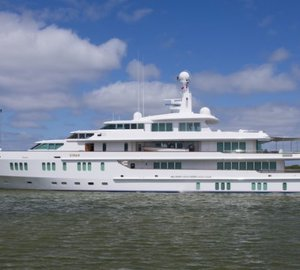 FEADSHIP Superyacht SIRAN and MOON SAND Yacht spotted in Makkum