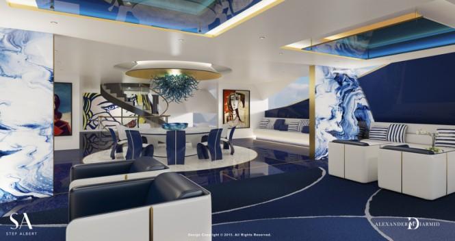 Luxury yacht IWANA - Owners Deck Lounge