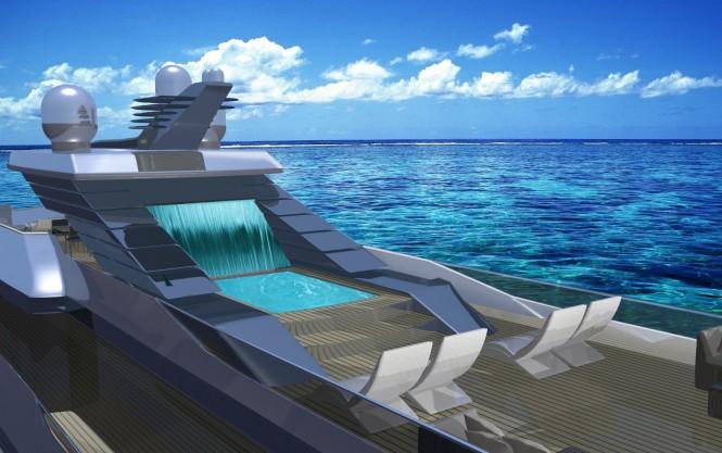 Luxury yacht SKUA54 concept - Exterior