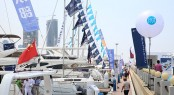 Luxury yachts on display at SO! DALIAN 2015