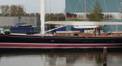 MCM's superyacht ATALANTE on the water