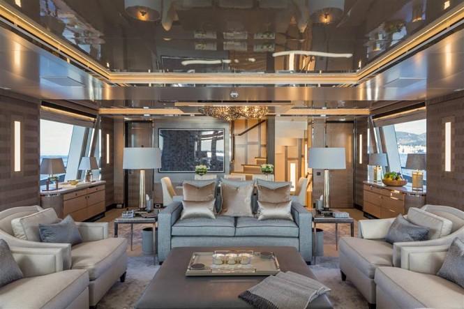 Motor yacht KISS - Saloon