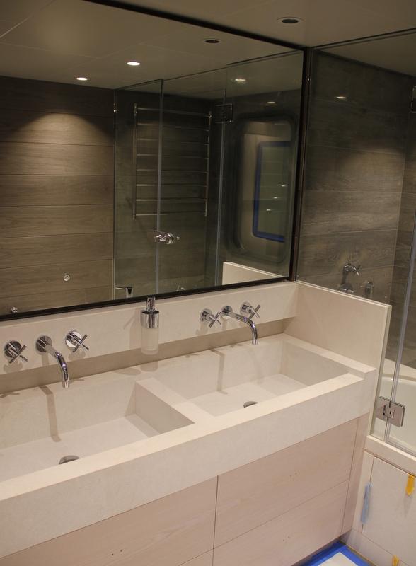 Motor yacht Sarp 46M - Bathroom
