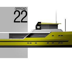 New Motor Yacht OFF ROAD 22 with helicopter deck by Steeler and Vripack
