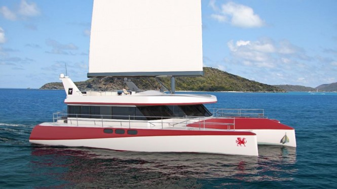 New 25m luxury trimaran DRAGONSHIP 25 by PI Super Yachts