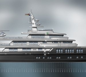 Fascinating 65m Explorer Yacht Concept with military stance by Barracuda Yacht Design