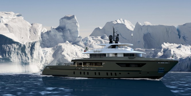 New Sanlorenzo explorer motor yacht 460Exp