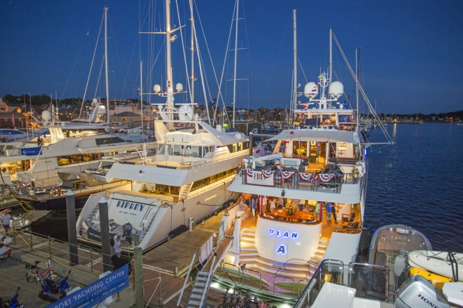 Newport Charter Yacht Show 2015 - Photo credit to Billy Black