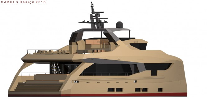 Passagemaker 110 superyacht concept by SABDES Design