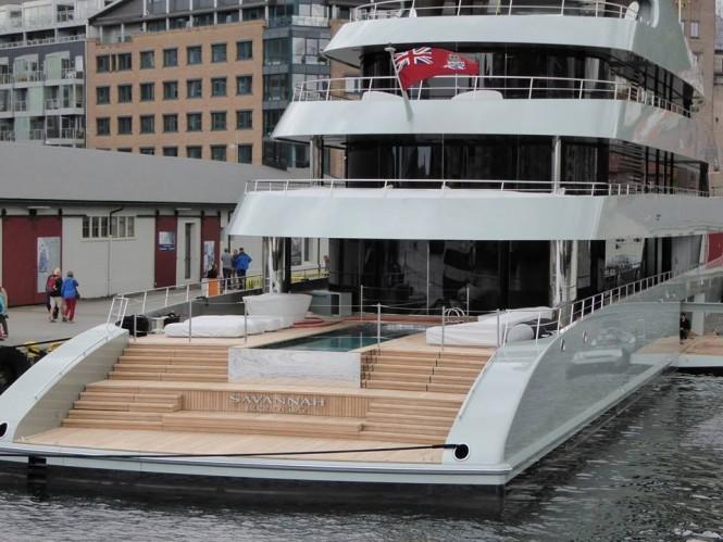SAVANNAH Yacht - Photo by Feadship Fanclub and Murky
