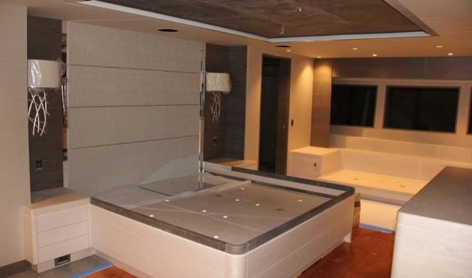 Sarp 46M superyacht - Cabin