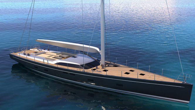 Southern Wind superyacht SEAWAVE - the largest sailing yacht to be displayed at the 2015 Cannes Yachting Festival